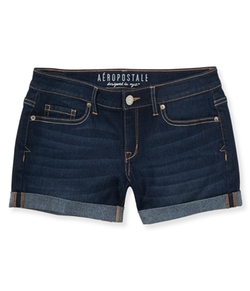 Aeropostale - Dark Wash Denim Midi Shorts