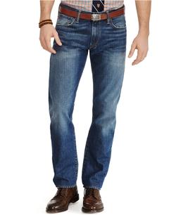 Polo Ralph Lauren - Varick Slim-Straight Cedar-Wash Jeans