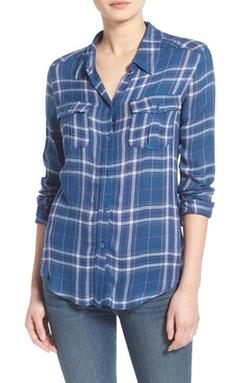Paige Denim  - Mya Plaid Shirt