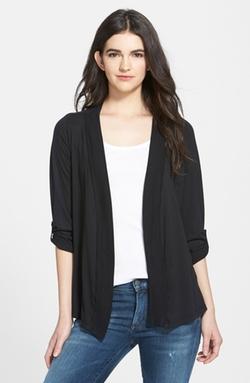 Splendid - Open Front Jersey Cardigan
