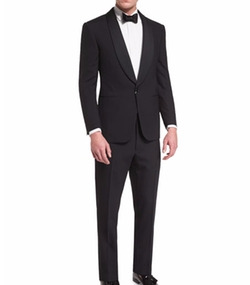 Ralph Lauren - Anthony Shawl-Lapel Wool Tuxedo
