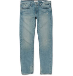 Frame Denim   - Rincon Washed Denim Jeans
