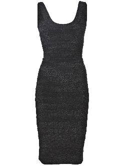 HERVÉ LÉGER - stretch knit dress