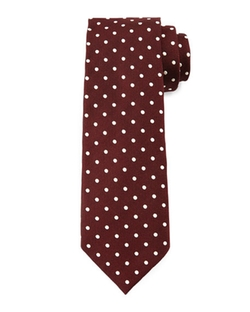 Tom Ford  - Mini Dot Print Tie