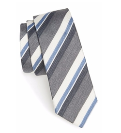 Boss  - Stripe Silk Blend Tie