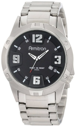 Armitron - Stainless-Steel & Dial Dress Watch