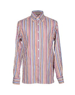 Càrrel  - Stripped Long Sleeve Button Down Shirt