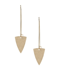 Natasha - Triangle Drop Earrings