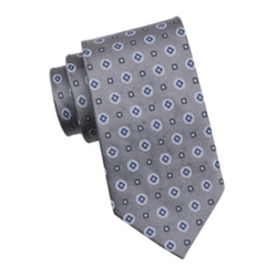 Stafford - Amber Medallion Silk Tie