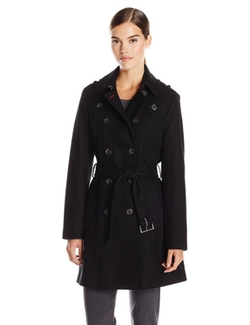 Tommy Hilfiger - Double Breasted Classic Wool Coat