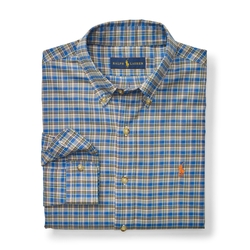 Ralph Lauren - Slim-Fit Plaid Cotton Shirt