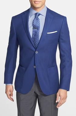 Corneliani  - Classic Fit Wool & Flax Blazer