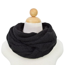 Trendsblue - Premium Honeycomb Stitch Knit Infinity Loop Circle Scarf