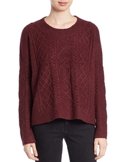 French Connection - Cable-Knit Sweater