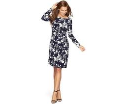 American Living  - Floral-Print Jersey Dress