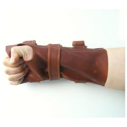 Xcoser Inc - Bane Wrist Brace Leather Gauntlet Wristguard Costume
