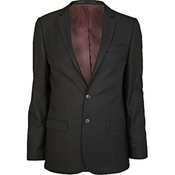 River Island - Smart Woven Skinny Suit Jacket