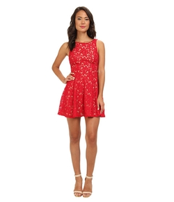 Gabriella Rocha - Lace Tank Fit & Flare Dress