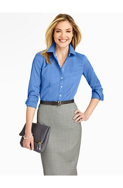 Talbots - The Perfect Long-Sleeve Shirt