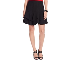 Lauren Ralph Lauren  - Ruffled Fit & Flare Skirt