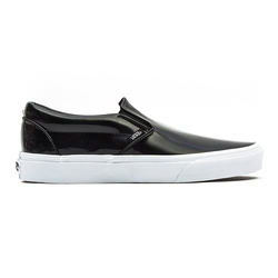 Vans - Classic Slip-On Patent Leather Sneakers