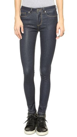 Zoe Karssen  - Worn Blues Skinny Jeans