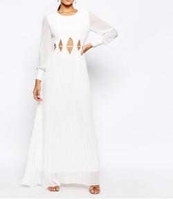 True Decadence - Long Sleeve Maxi Dress