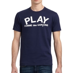Comme des Garcons Play - Cotton Graphic Tee