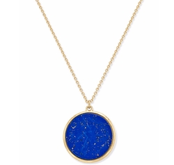 Lauren Ralph Lauren - Stone Disc Pendant Necklace