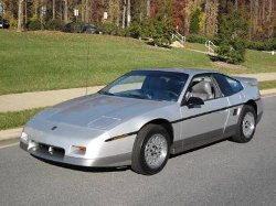 Pontiac  - 1987 Fiero GT Car