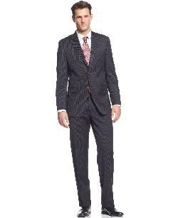 Ralph Lauren  - Black Stripe Suit Slim Fit