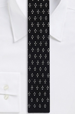 Boss Hugo Boss - Cotton Knit Print Tie