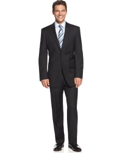 Jones New York Suit 24/7 - Herringbone Athletic Fit Suit