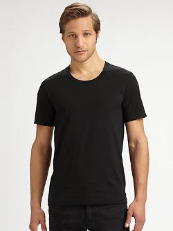 BLK DNM  - Crewneck Cotton Tee