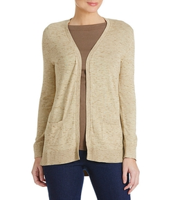 Westbound - Open-Front Hi-Lo Knit Cardigan