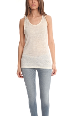Acne - Belief Linen Tank Tops