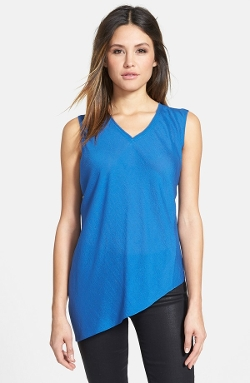 Elie Tahari - V-Neck Sleeveless Silk Blouse