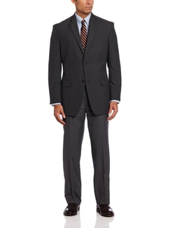 Haggar - Pinstripe Classic-Fit Suit Jacket