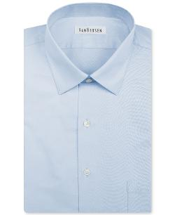 Van Heusen  - Herringbone Solid Long-Sleeved Shirt