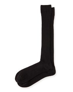 Neiman Marcus	  - Over-the-Calf Ribbed Socks