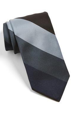 Todd Snyder  - White Label Stripe Silk Tie