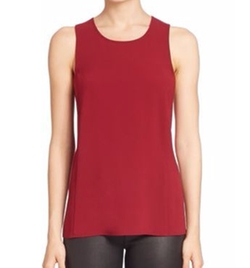 BCBGMAXAZRIA - Solid Cross Back Tank