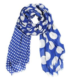 Anika Dali - Polka Dots Fashion Scarf