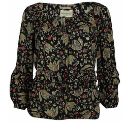 Ralph Lauren - Floral Long Sleeve Peasant Top
