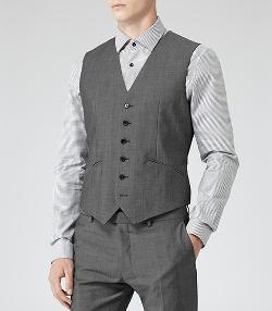 Hazzard W  - Wool Blend Waistcoat