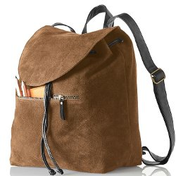 Mark & Graham - Suede Boho Backpack Bag