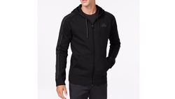 Adidas  - Essentials Cotton Fleece Full-Zip Hoodie