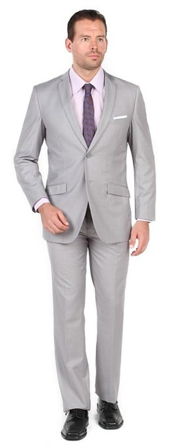 Tazio - 2 Button 2 Piece Slim Fit Suit