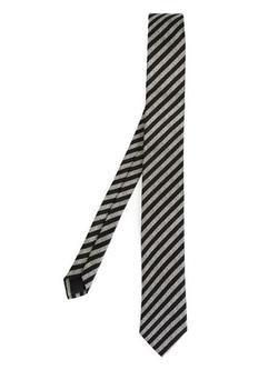 Saint Laurent - Striped Silk Tie