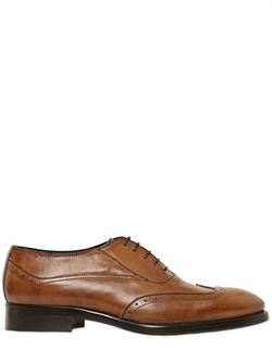 Gianni Russo - Brogue Leather Oxford Lace-up Shoes
